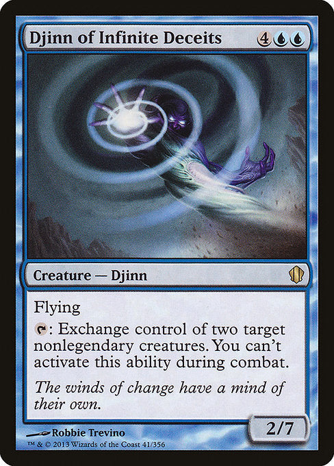 Djinn of Infinite Deceits [Commander 2013] | Game Theory