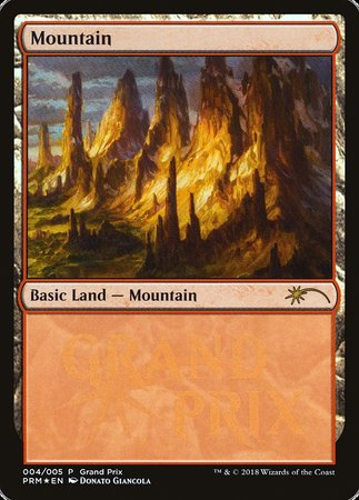 Mountain [Grand Prix Promos] | Game Theory