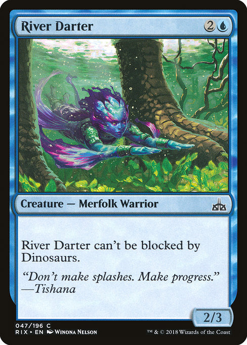 River Darter [Rivals of Ixalan] | Game Theory