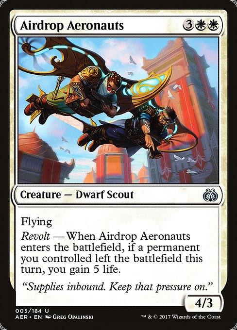 Airdrop Aeronauts [Aether Revolt] | Game Theory