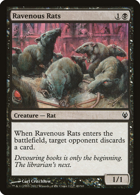 Ravenous Rats [Duel Decks: Izzet vs. Golgari] | Game Theory