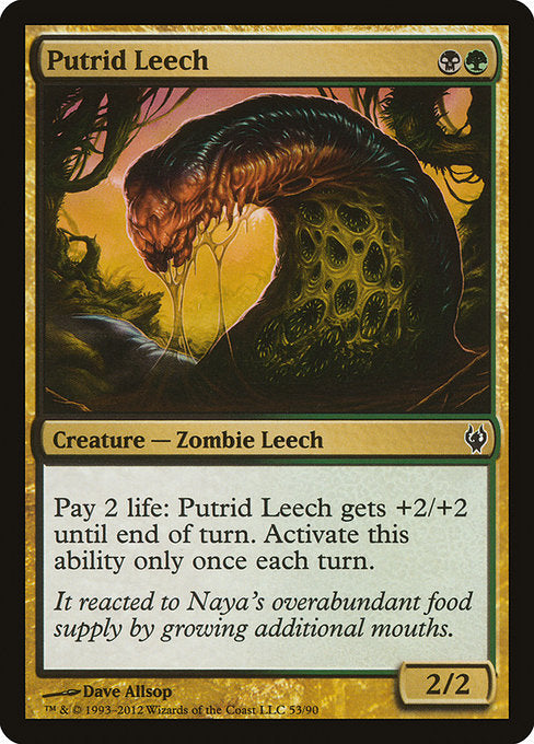 Putrid Leech [Duel Decks: Izzet vs. Golgari] | Game Theory