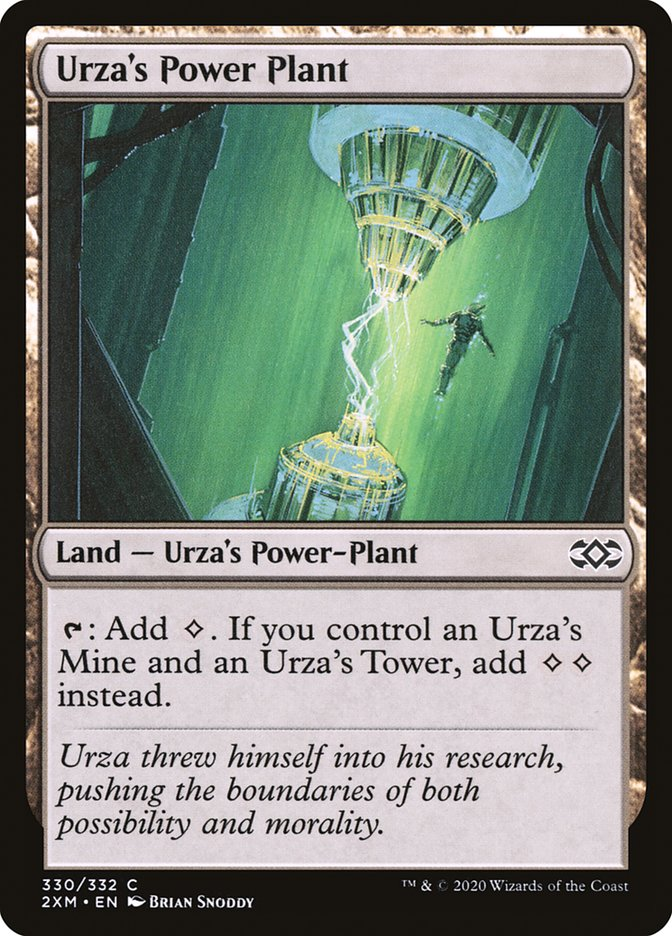 Urza's Power Plant [Double Masters] | Game Theory