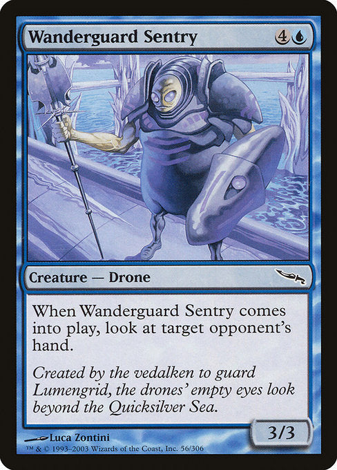 Wanderguard Sentry [Mirrodin] | Game Theory