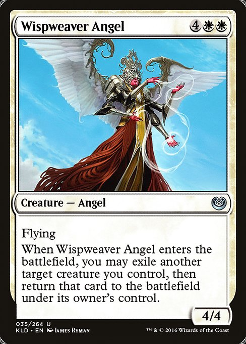 Wispweaver Angel [Kaladesh] | Game Theory