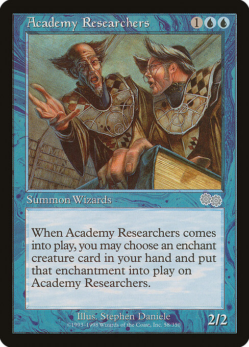 Academy Researchers [Urza's Saga] | Game Theory