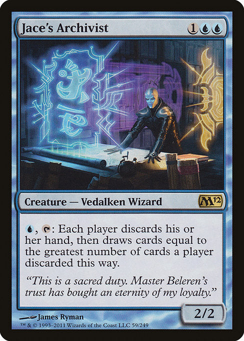 Jace's Archivist [Magic 2012] | Game Theory