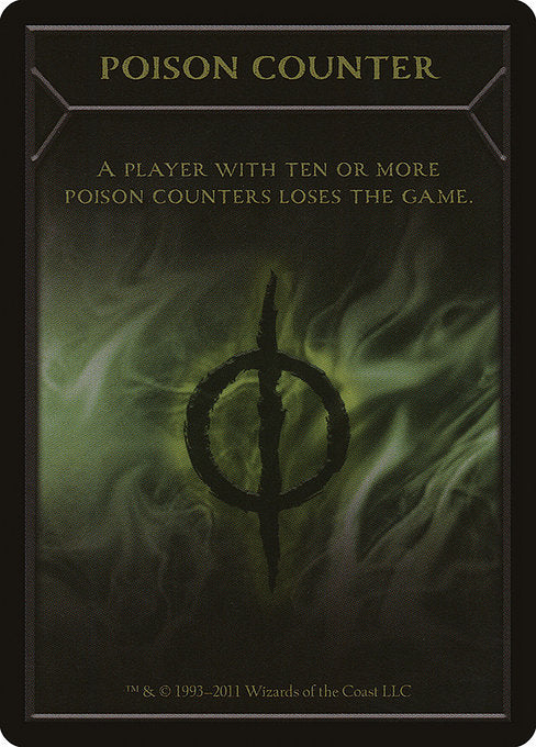 Poison Counter [New Phyrexia Tokens] | Game Theory