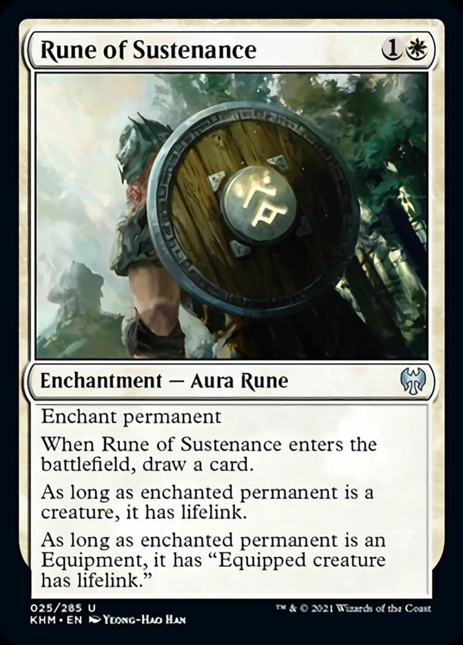 Rune of Sustenance [Kaldheim] | Game Theory