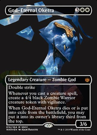 God-Eternal Oketra SDCC 2019 EXCLUSIVE [San Diego Comic-Con 2019] | Game Theory