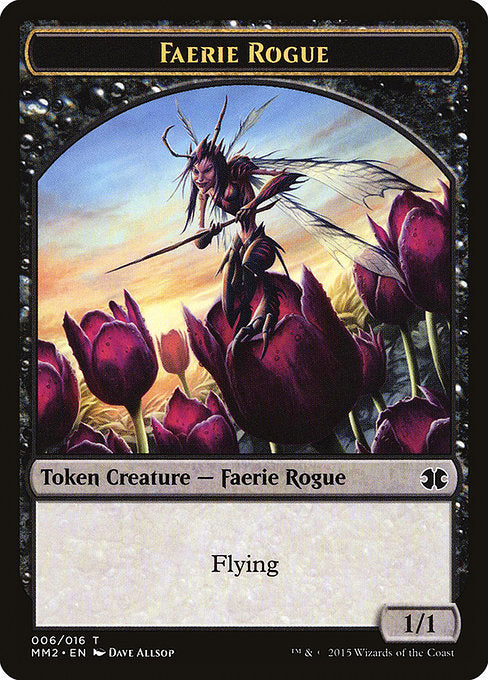 Faerie Rogue [Modern Masters 2015 Tokens] | Game Theory