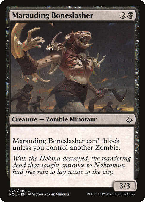 Marauding Boneslasher [Hour of Devastation] | Game Theory