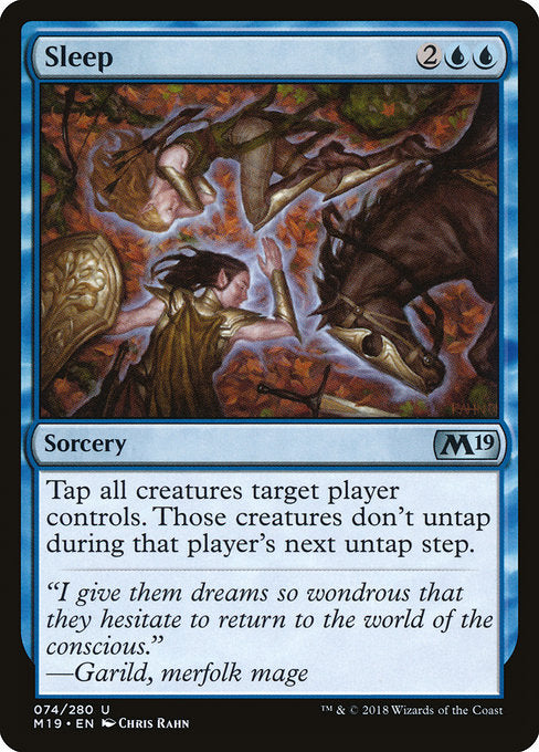 Sleep [Core Set 2019] | Game Theory