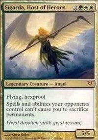 Sigarda, Host of Herons (Oversized) [Open the Helvault] | Game Theory
