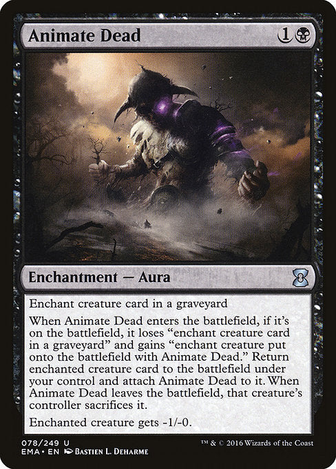 Animate Dead [Eternal Masters] | Game Theory