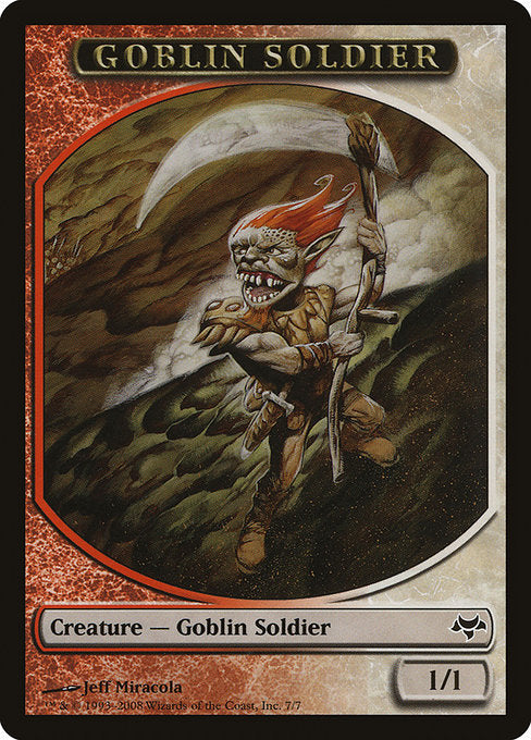 Goblin Soldier [Eventide Tokens] | Game Theory