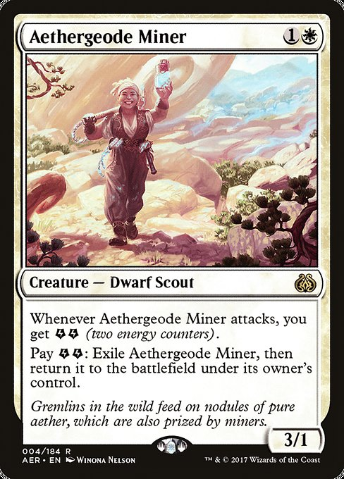 Aethergeode Miner [Aether Revolt] | Game Theory