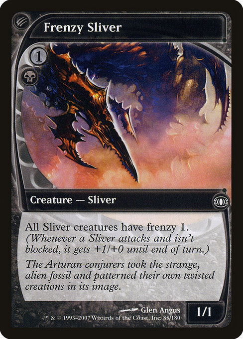 Frenzy Sliver [Future Sight] | Game Theory