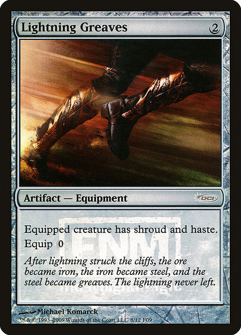Lightning Greaves [Friday Night Magic 2009] | Game Theory