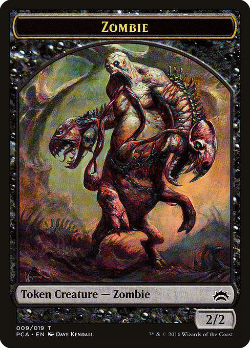 Zombie [Planechase Anthology Tokens] | Game Theory