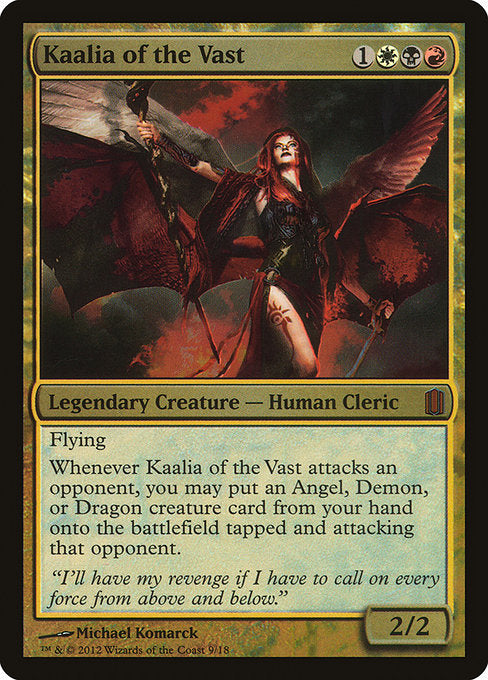 Kaalia of the Vast [Commander's Arsenal] | Game Theory