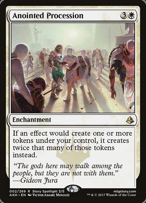 Anointed Procession [Amonkhet] | Game Theory