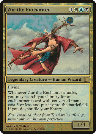 Zur the Enchanter (Commander's Arsenal) [Commander's Arsenal Oversized] | Game Theory