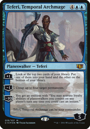 Teferi, Temporal Archmage (Commander 2014) [Commander 2014 Oversized] | Game Theory