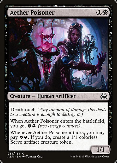Aether Poisoner [Aether Revolt] | Game Theory