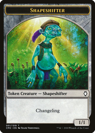 Shapeshifter Token [Commander Anthology Volume II Tokens] | Game Theory