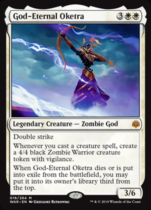 God-Eternal Oketra [War of the Spark] | Game Theory