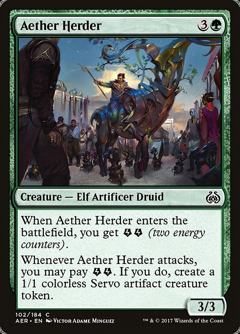 Aether Herder [Aether Revolt] | Game Theory
