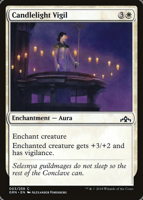 Candlelight Vigil [Guilds of Ravnica] | Game Theory