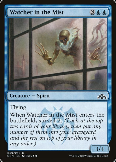 Watcher in the Mist [Guilds of Ravnica] | Game Theory