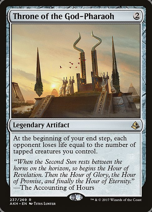 Throne of the God-Pharaoh [Amonkhet]