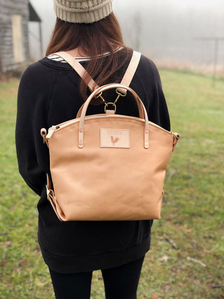 Limited Edition* Virginia Leather Convertible Backpack 2.0