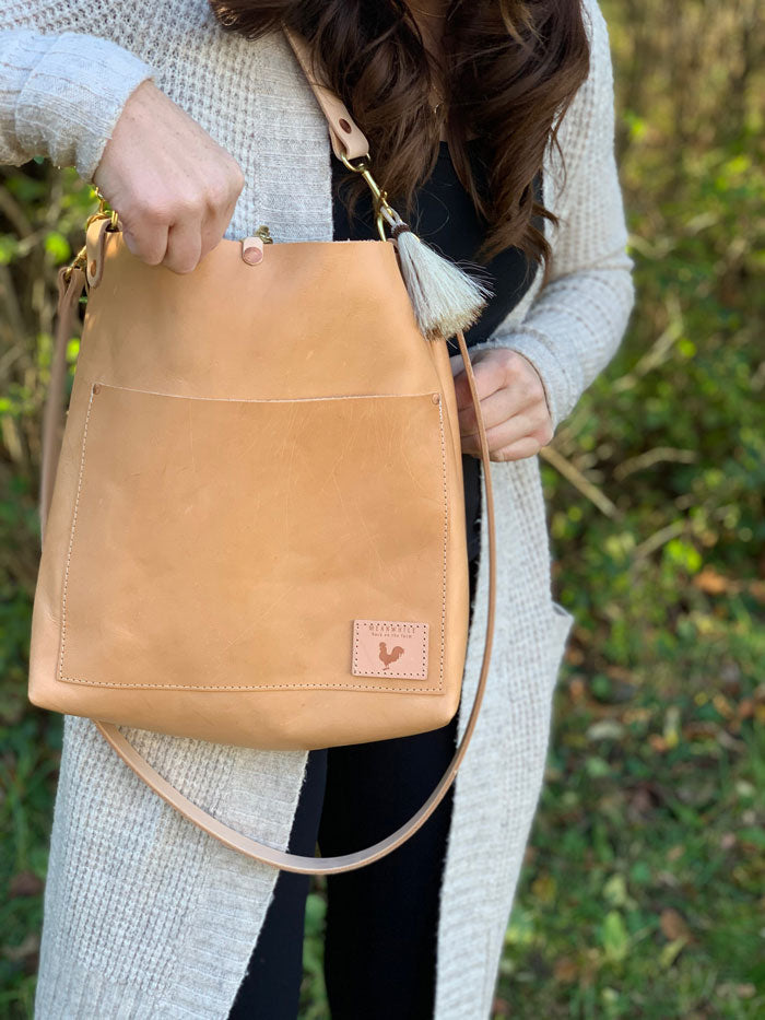 Limited Edition* Virginia Leather Carryall and Crossbody