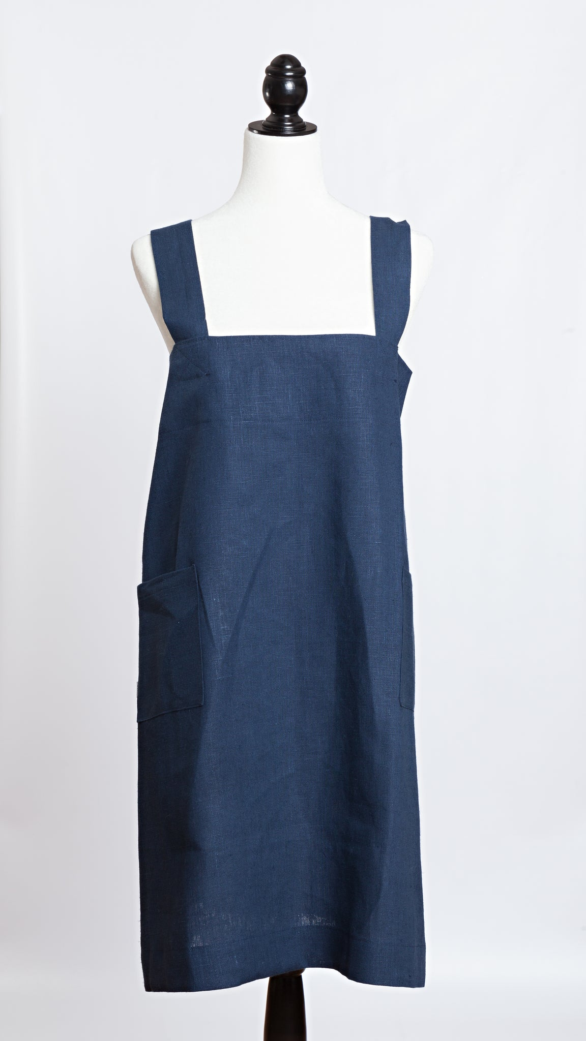Molly Morris Designs Navy Apron