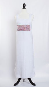 Molly Morris Designs Terry Cloth Apron with Liberty of London Pink Fabric