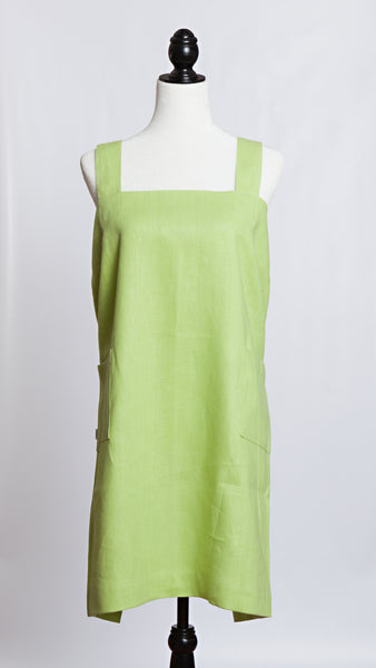 Molly Morris Designs Limelight Green Apron