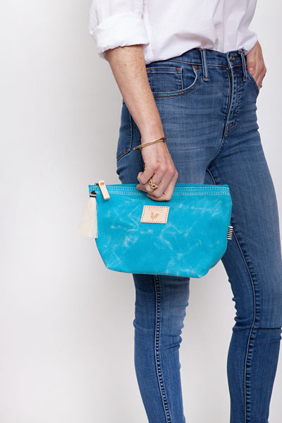 Limited Edition* Ocean Wax Canvas Pouch