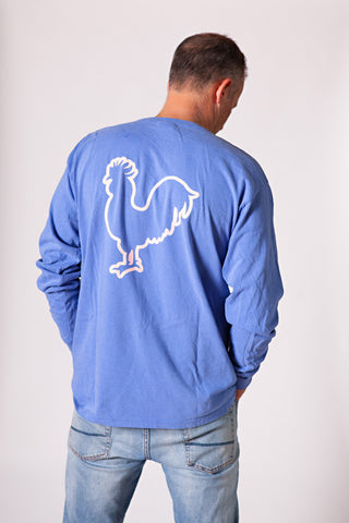 True Blue Long Sleeve T-shirt