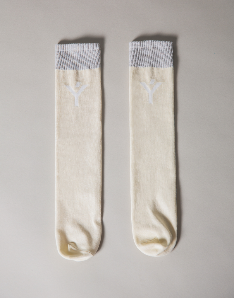 Ý Logo Socks - Off White