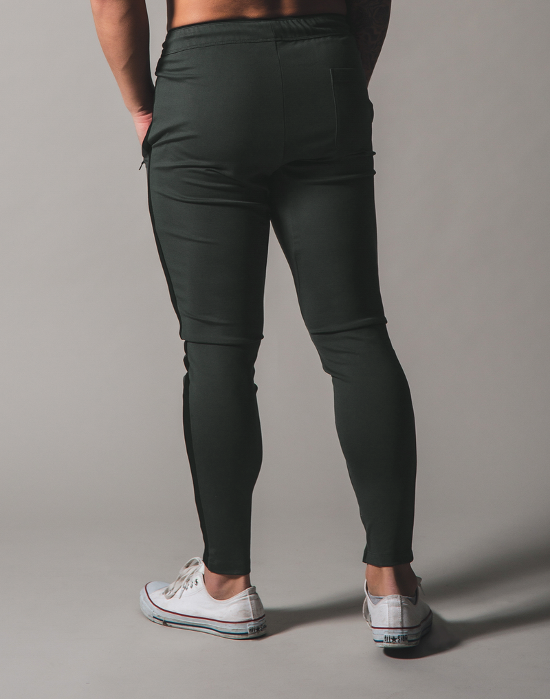 BORN TO LÝFT One Line Pants - Olive