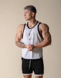 LÝFT Flag Piping Tanktop - Off White