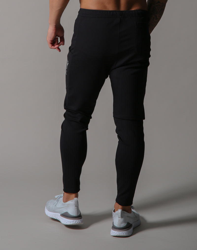 Ý Side Poket UTILITY PANTS - Black
