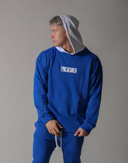 Sweat Layered Pullover / Born to LYFT - Blue