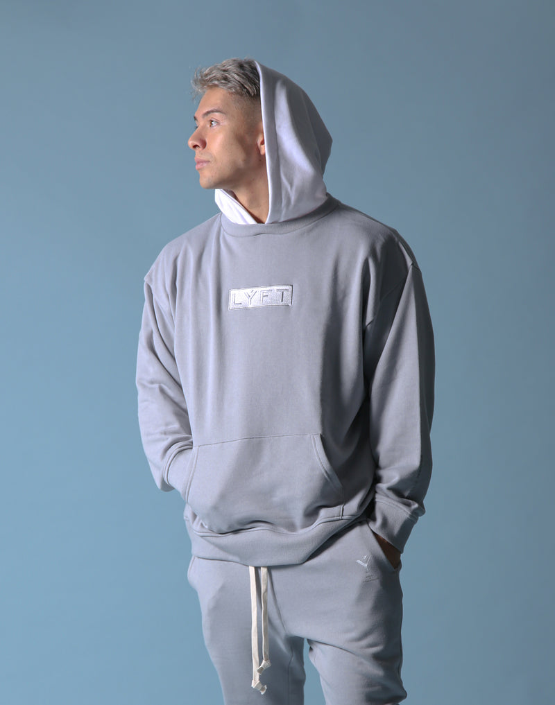 Sweat Layered Pullover / Born to LYFT - Grey