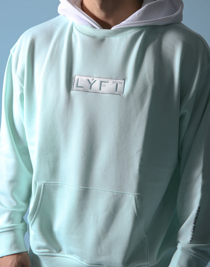 Sweat Layered Pullover / Born to LYFT - Mint Green