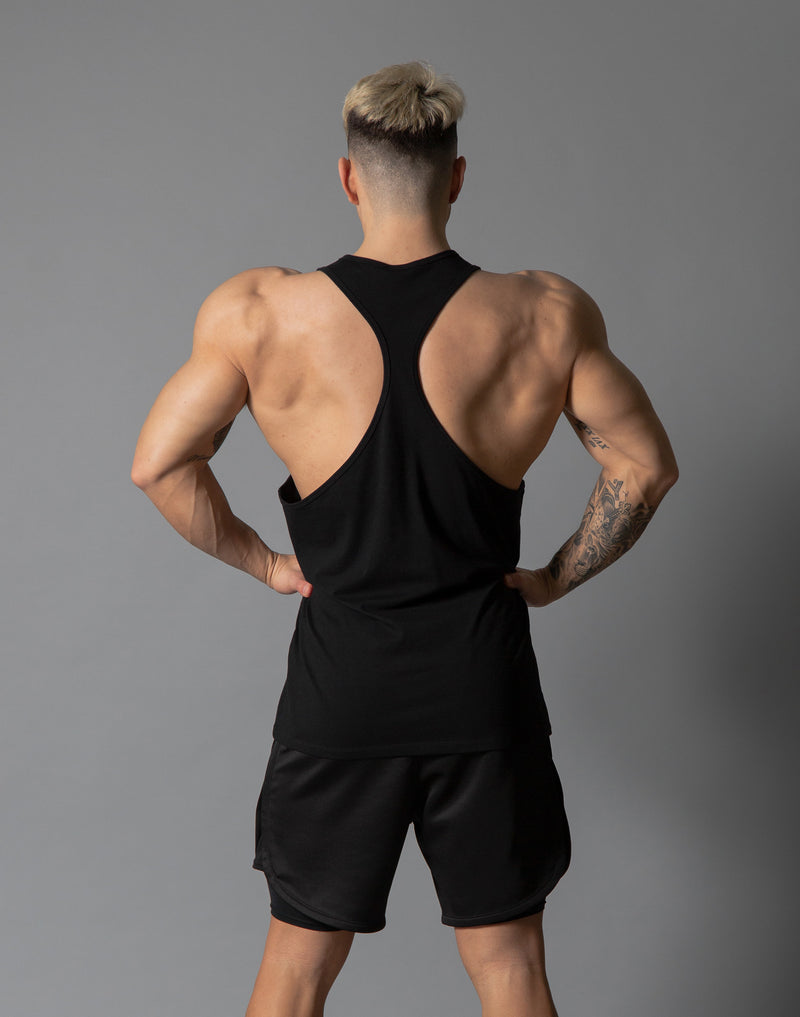 LÝFT 2 Line Training Tanktop - Black